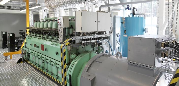 system symulacji pracy siłowni okrętowej